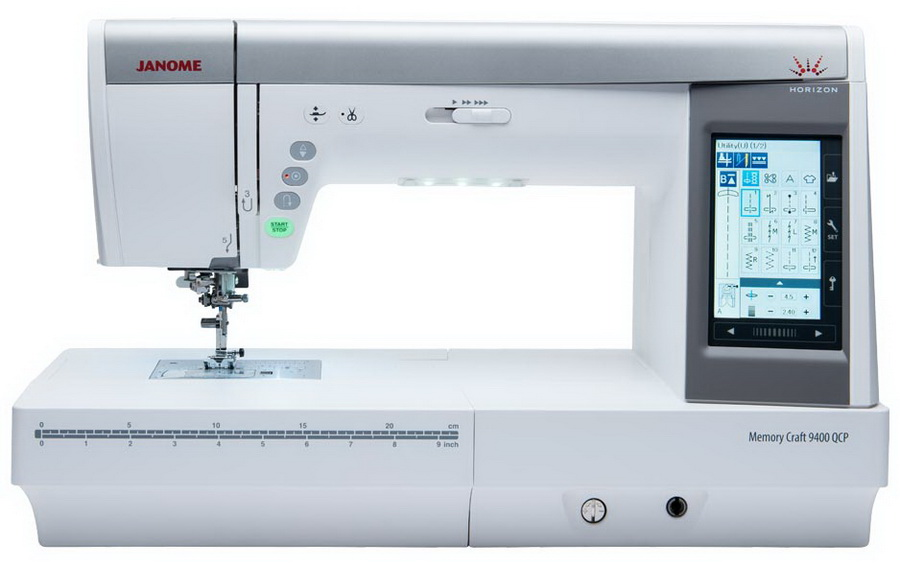 Janome Horizon Memory Craft 9400QCP Sewing and Quilting Machine