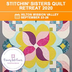 Stitchin Sisters Quilt Retreat 2020
