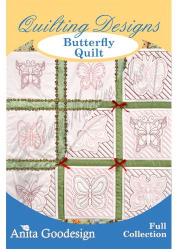 Anita Goodesign Butterfly Quilt 117AGHD