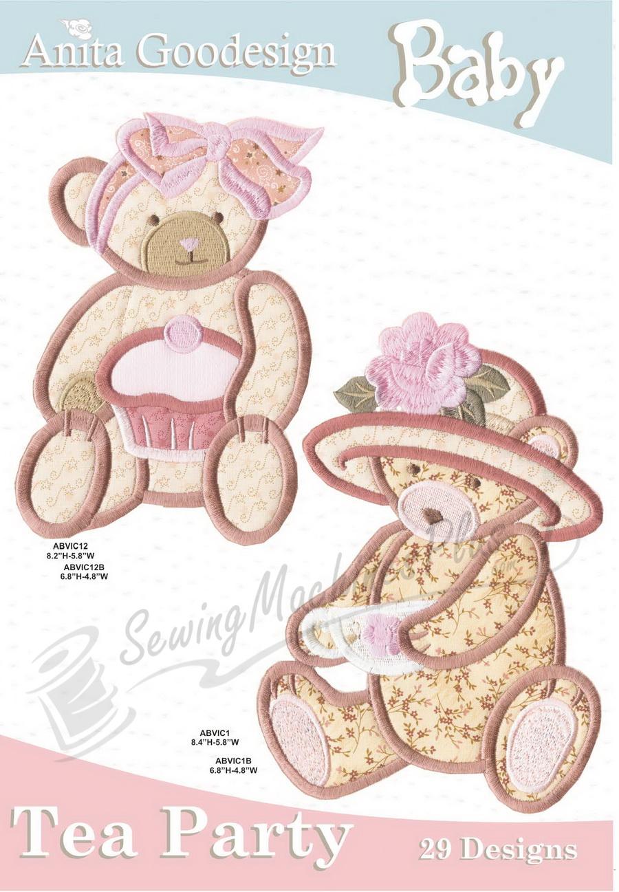Anita Goodesign Baby Tea Party (29 Designs) 11BAG