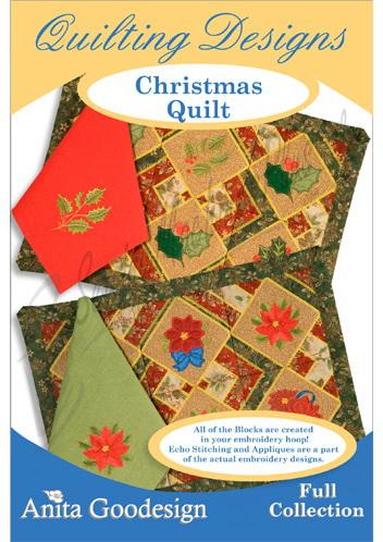 Anita Goodesign Christmas Quilt 145AGHD