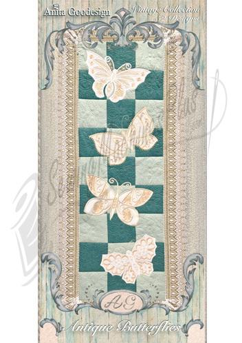 Anita Goodesign Antique Butterflies 151AGHD