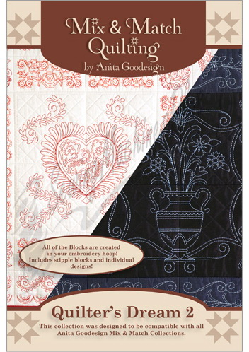 Anita Goodesign Quilters Dream 2 155AGHD
