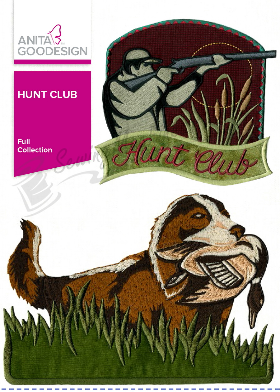 Anita Goodesign Hunt Club (268AGHD)