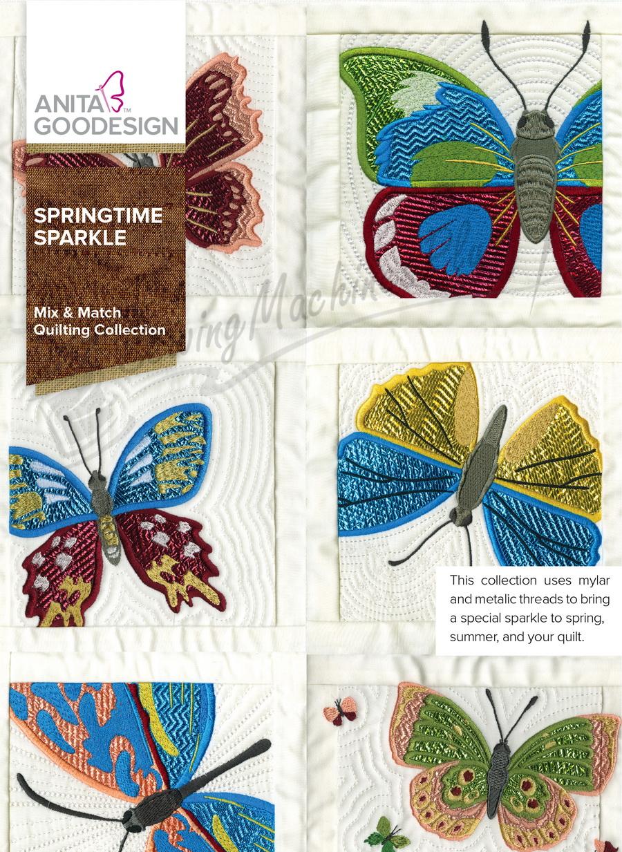 Anita Goodesign Springtime Sparkle (279AGHD)
