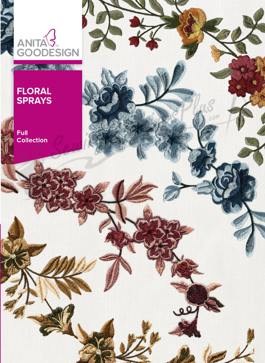 Anita Goodesign Floral Sprays (280AGHD)