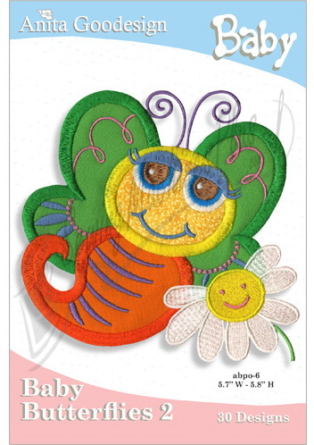 Anita Goodesign Mini - Baby Butterflies 2 28BAG