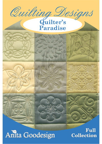 Anita Goodesign Quilters Paradise Full Collection 54AGHD