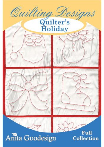 Anita Goodesign Full Collection Quilters Holiday 64AGHD