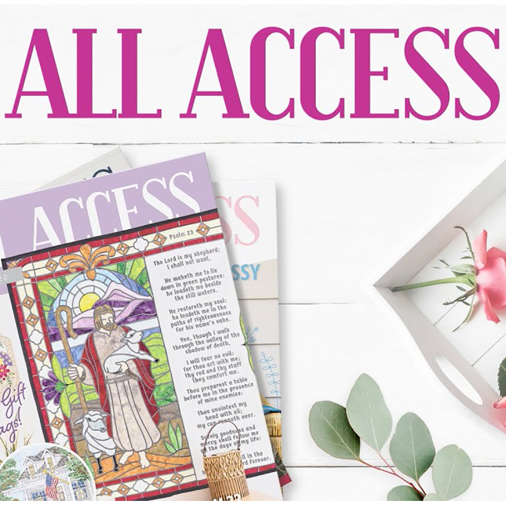 Anita Goodesign All Access Club (Monthly Designs Subscription)