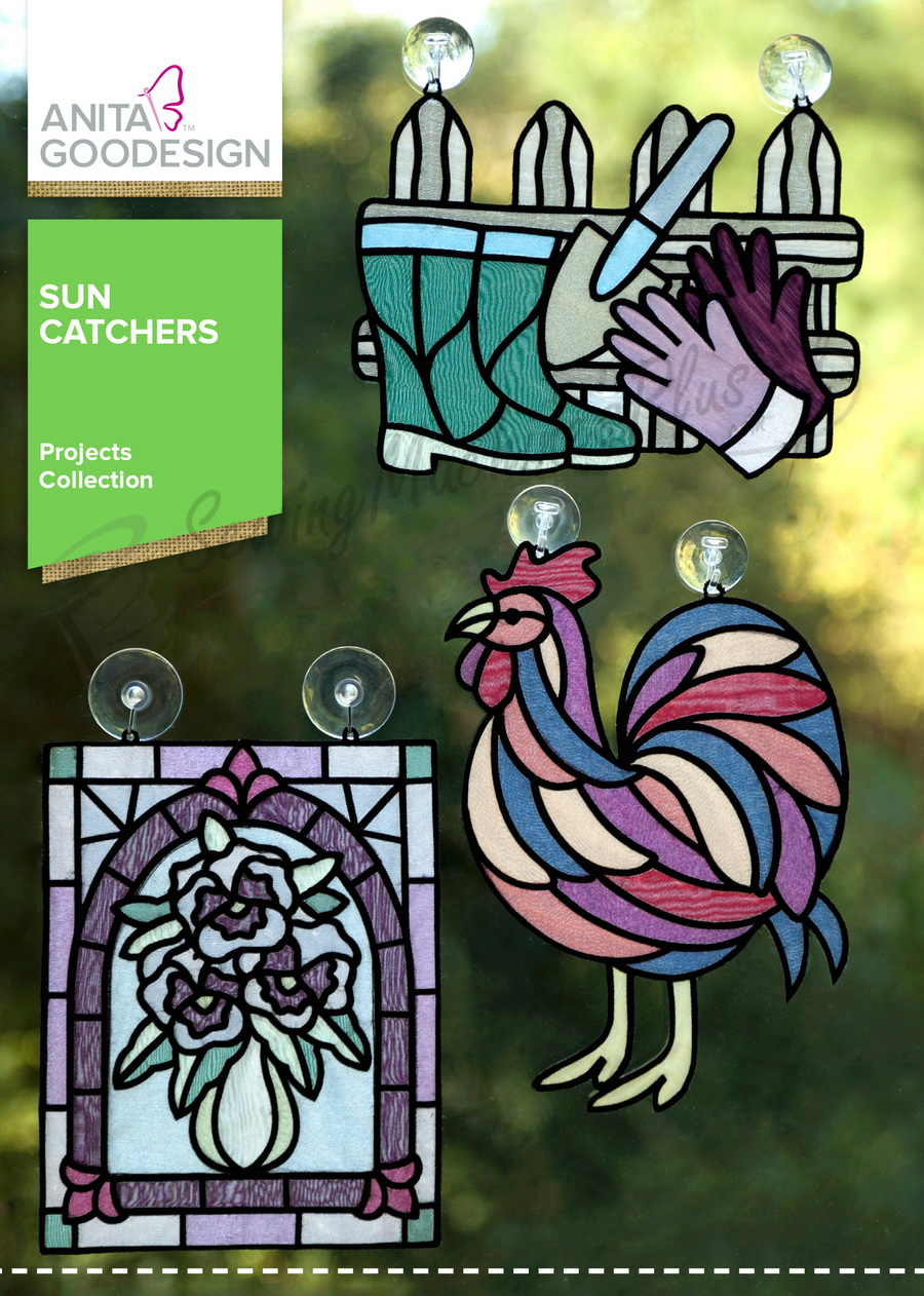 Anita Goodesign Sun Catchers (Proj78)