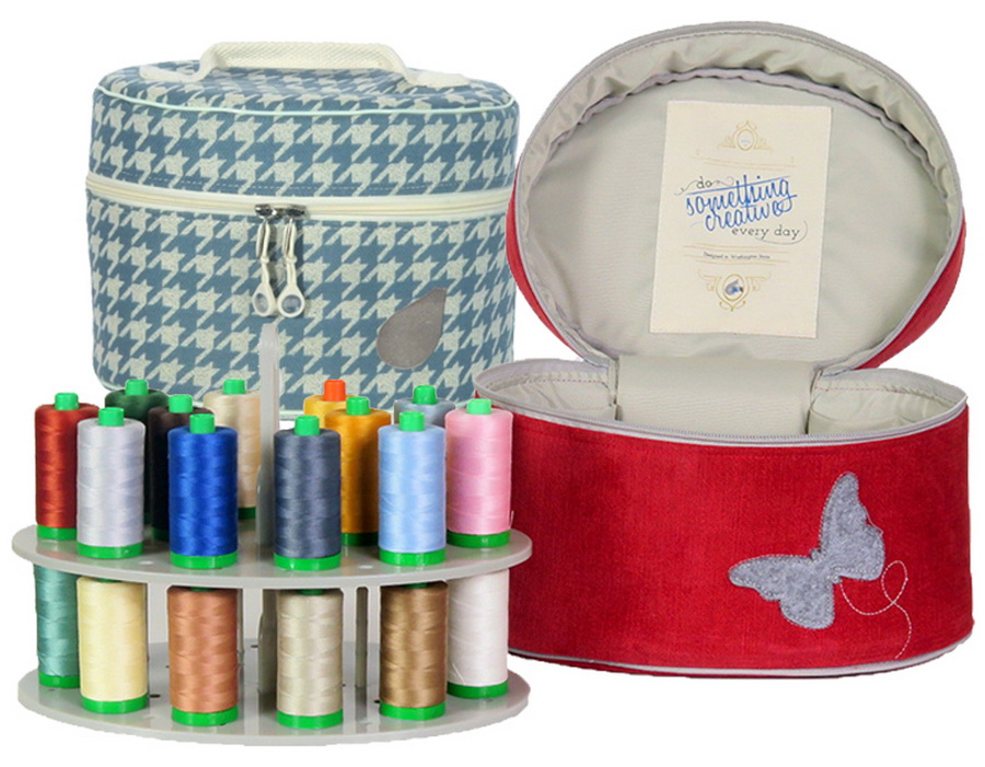 Bluefig Designer Series Pearl Mini Carry Case - Available in Butterfly or Sabrina