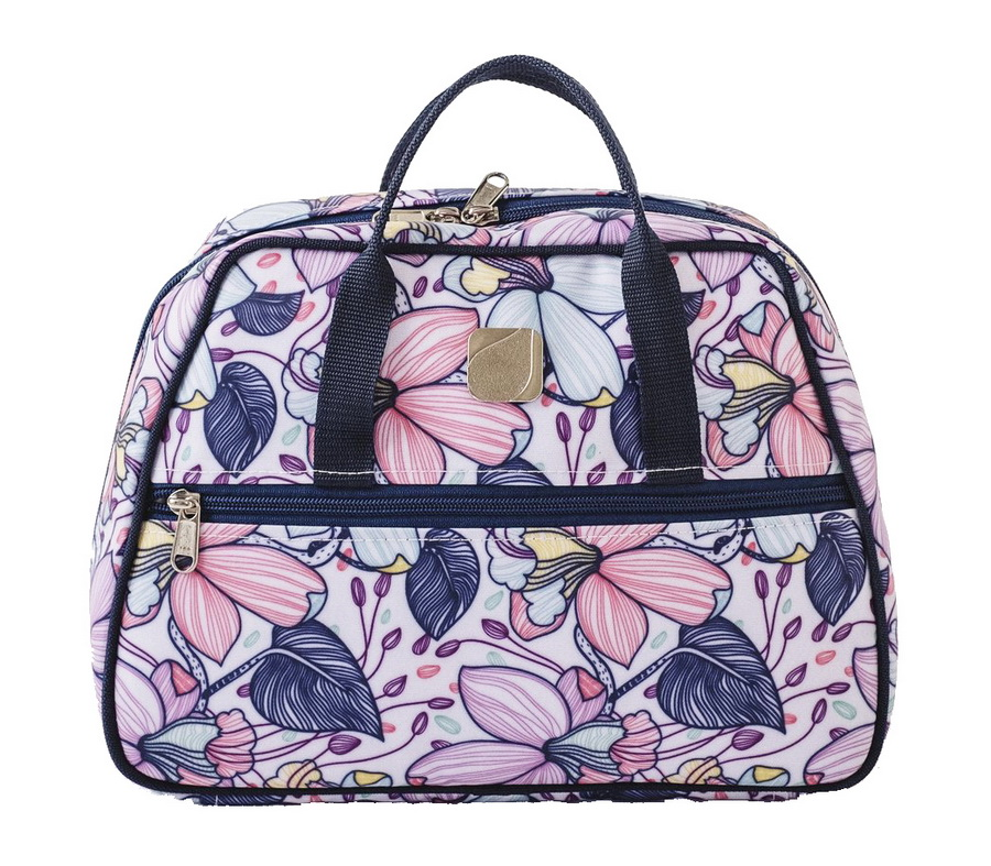 Bluefig Maisy Zippered Notions Bag with Removable Inserts