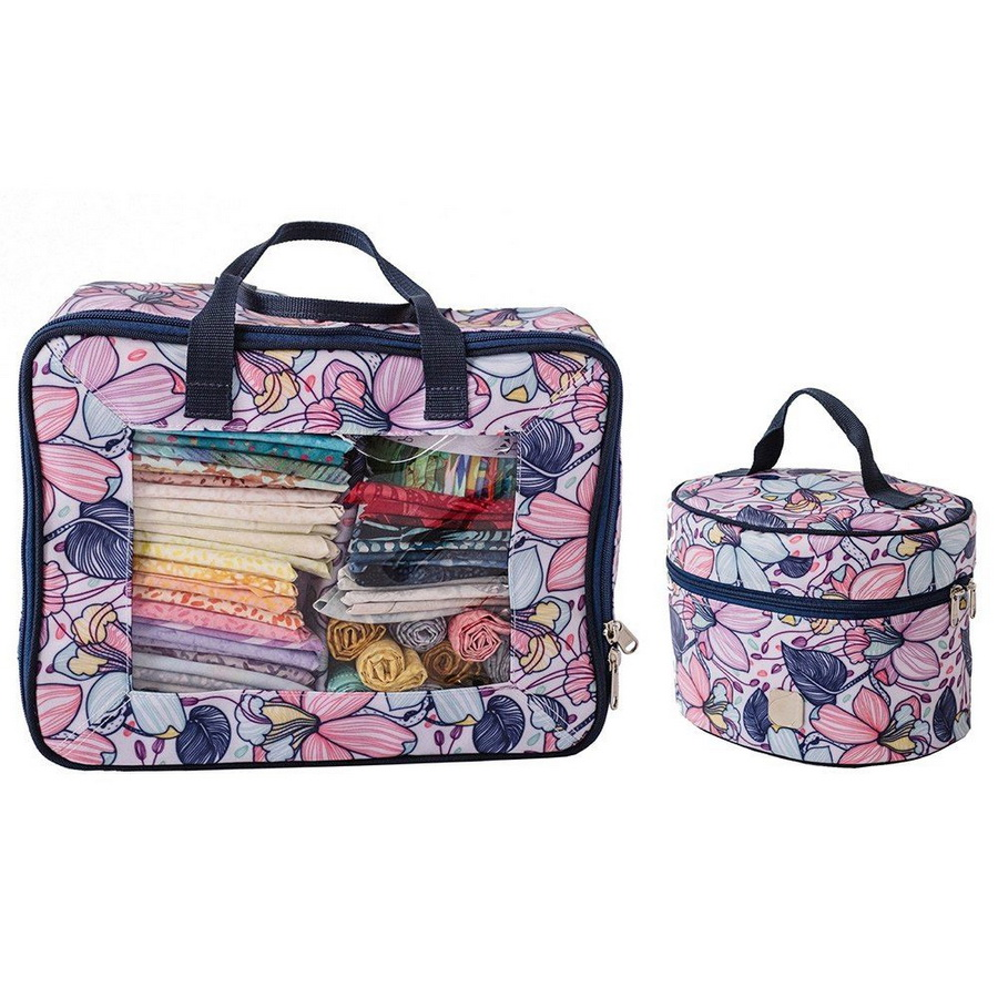 Bluefig Quilters Basic Bundle: Fat Quarter Bag and Thread Carrier - Maisy