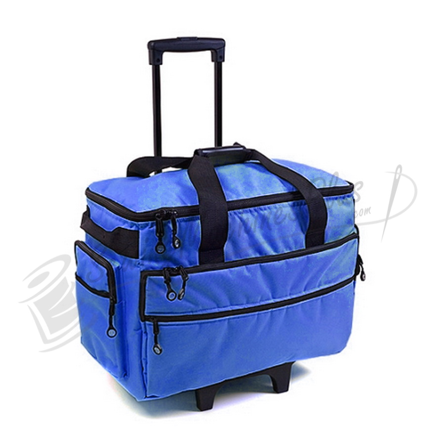 Bluefig TB19 Wheeled Sewing Machine Carrier - Cobalt