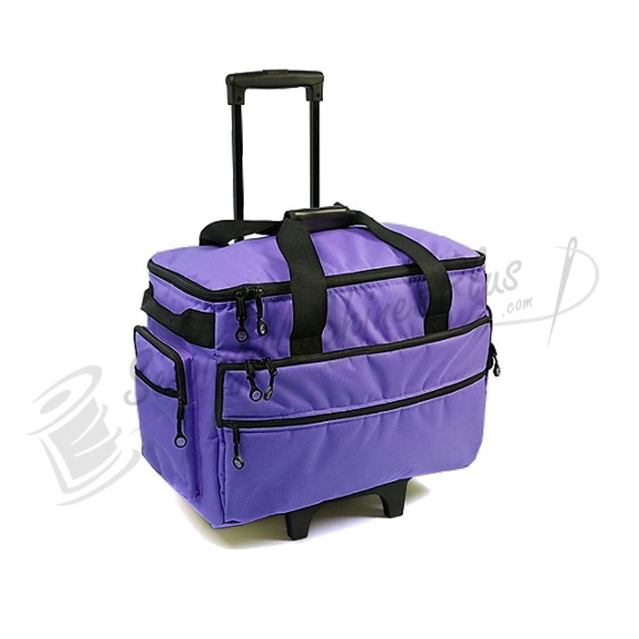 Bluefig TB19 Wheeled Sewing Machine Carrier - Purple