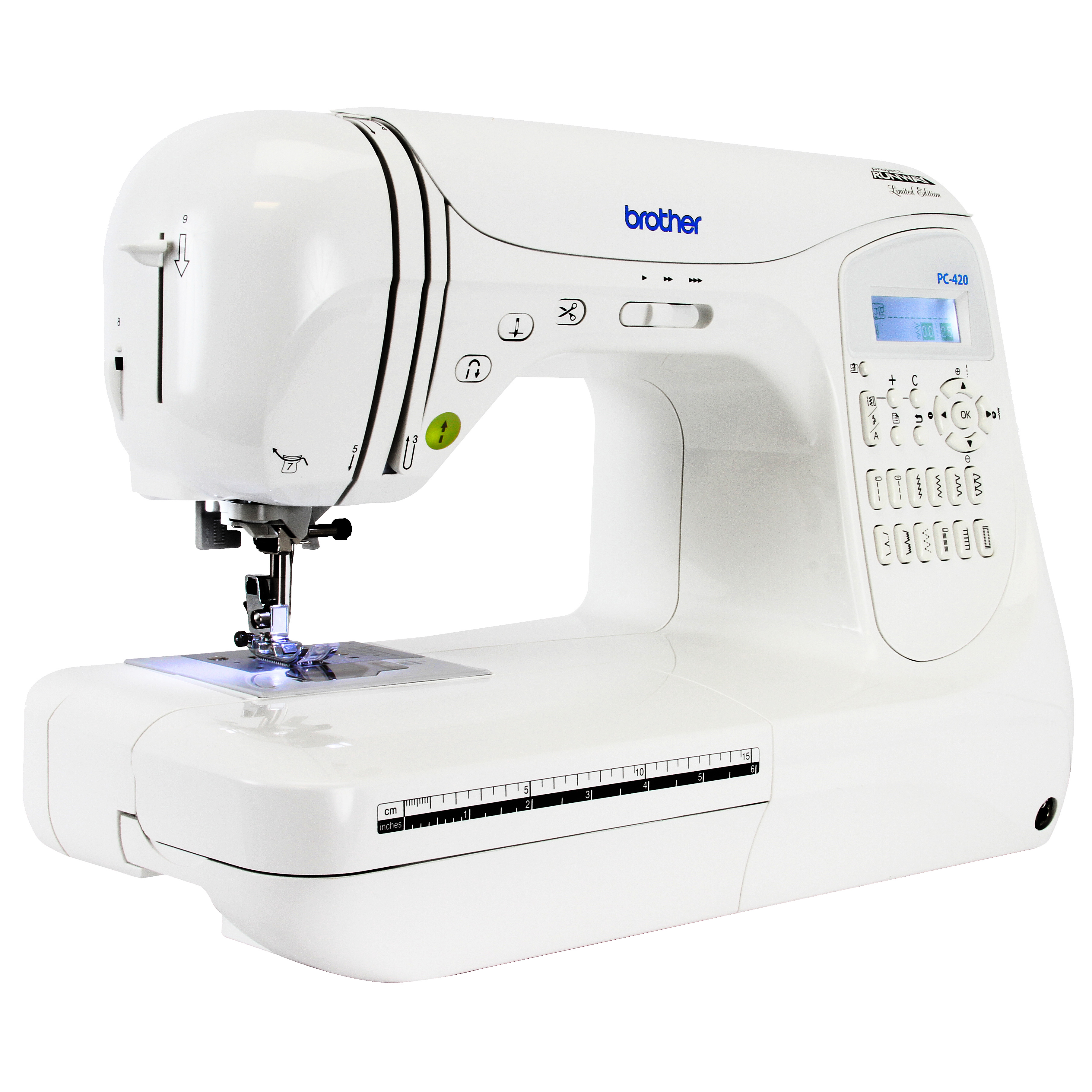 Refurbished Brother PC420- PRW Project Runway Computerized Sewing Machine