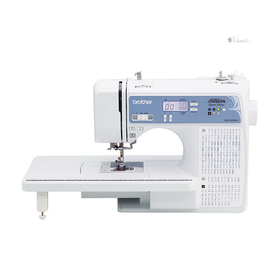 Brother XR9550PRW Sewing Machine - Project Runway Limited Edition