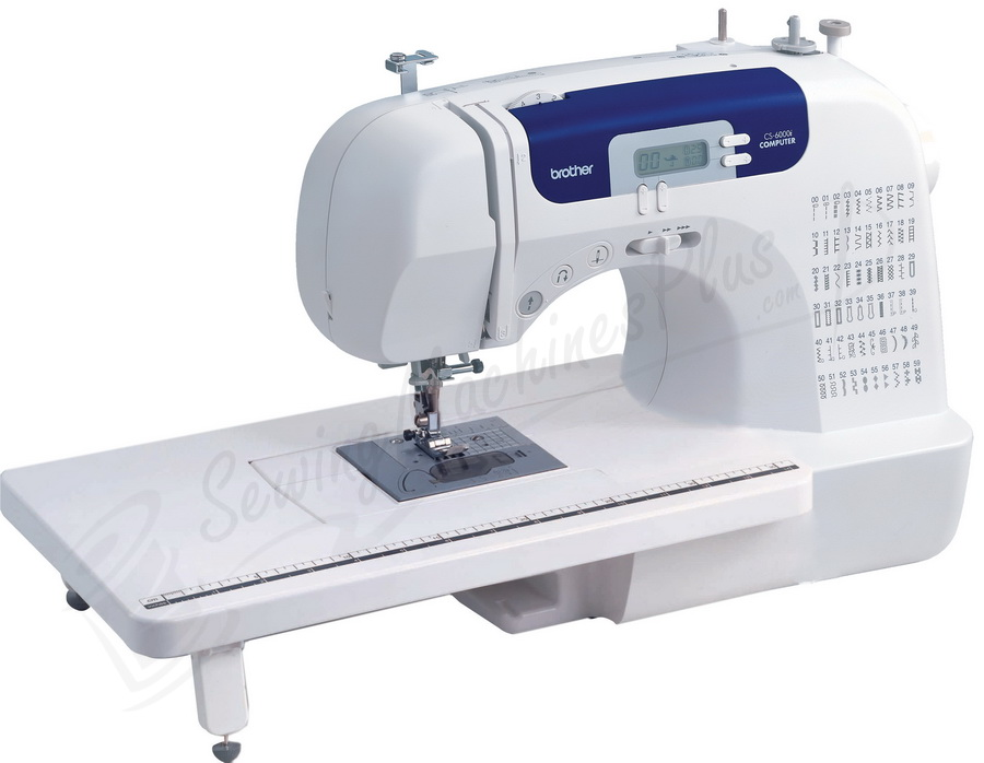 Brother Sewing Machine-Honorary mention: Brother CS-6000i