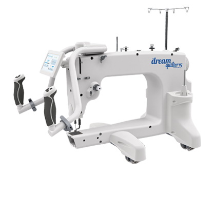 Brother Dream Quilter 15 DQLT15 15in Mid-Arm Quilting Machine