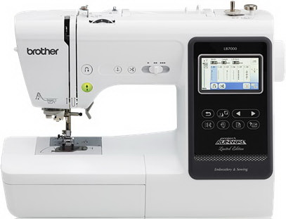 Brother LB7000 Computerized Sewing and Embroidery Machine Factory Serviced