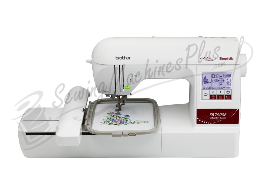 "Brother Simplicity SB7900E Embroidery Machine 5""x7"""