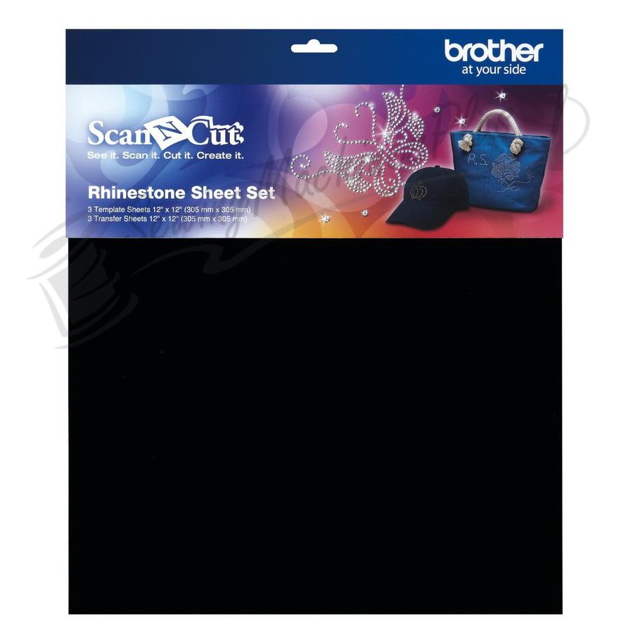 Brother CARSSH1 Rhinestone Sheet Set for Scan N Cut Starter Kit CARSKIT1