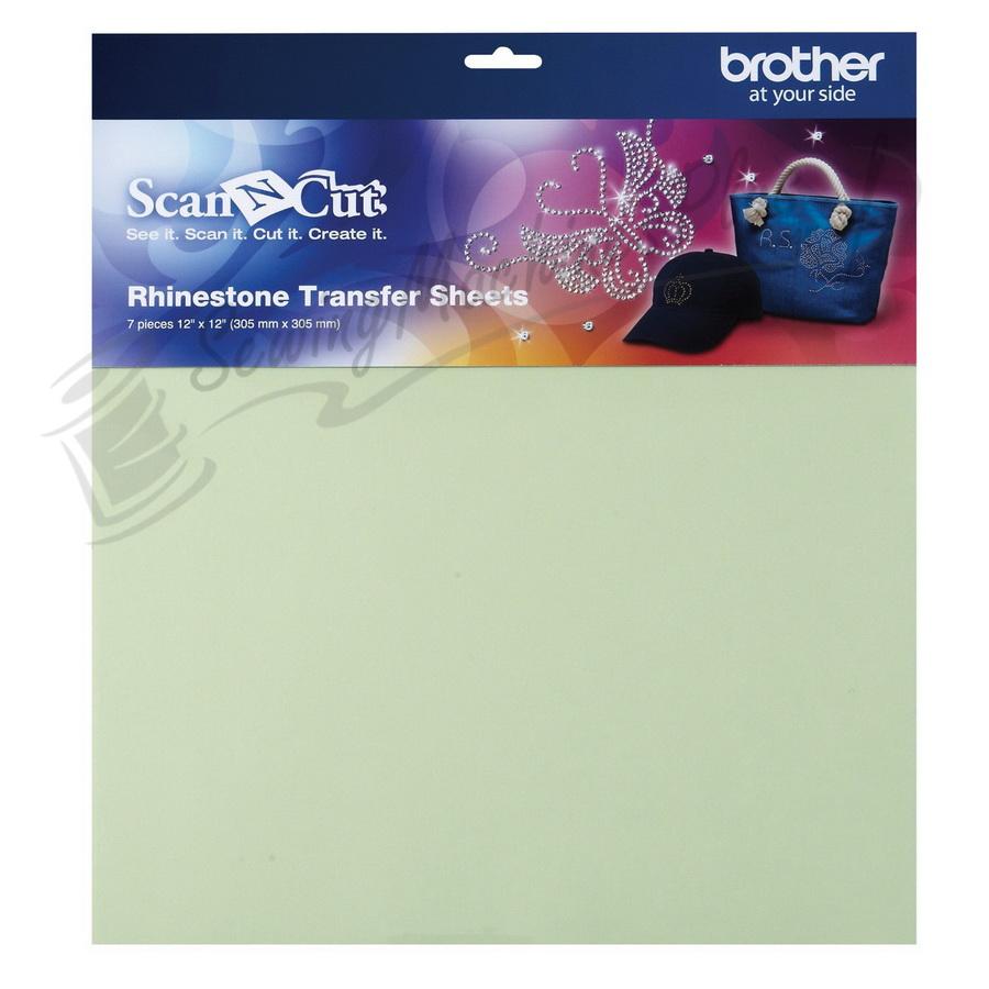Brother CARSTS1 Rhinestone Transfer Sheet Set for Scan N Cut Starter Kit CARSKIT1
