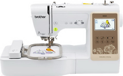 Best monogram machine-Brother SE625 Computerized Embroidery Machine (Editor's Choice)