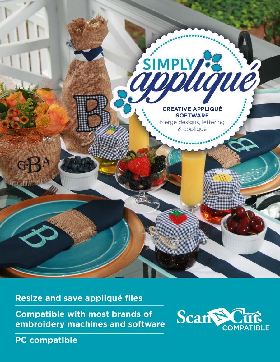 Simply Applique - Creative Applique Software