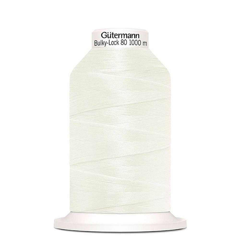 Bulkylock Serger Thread - White