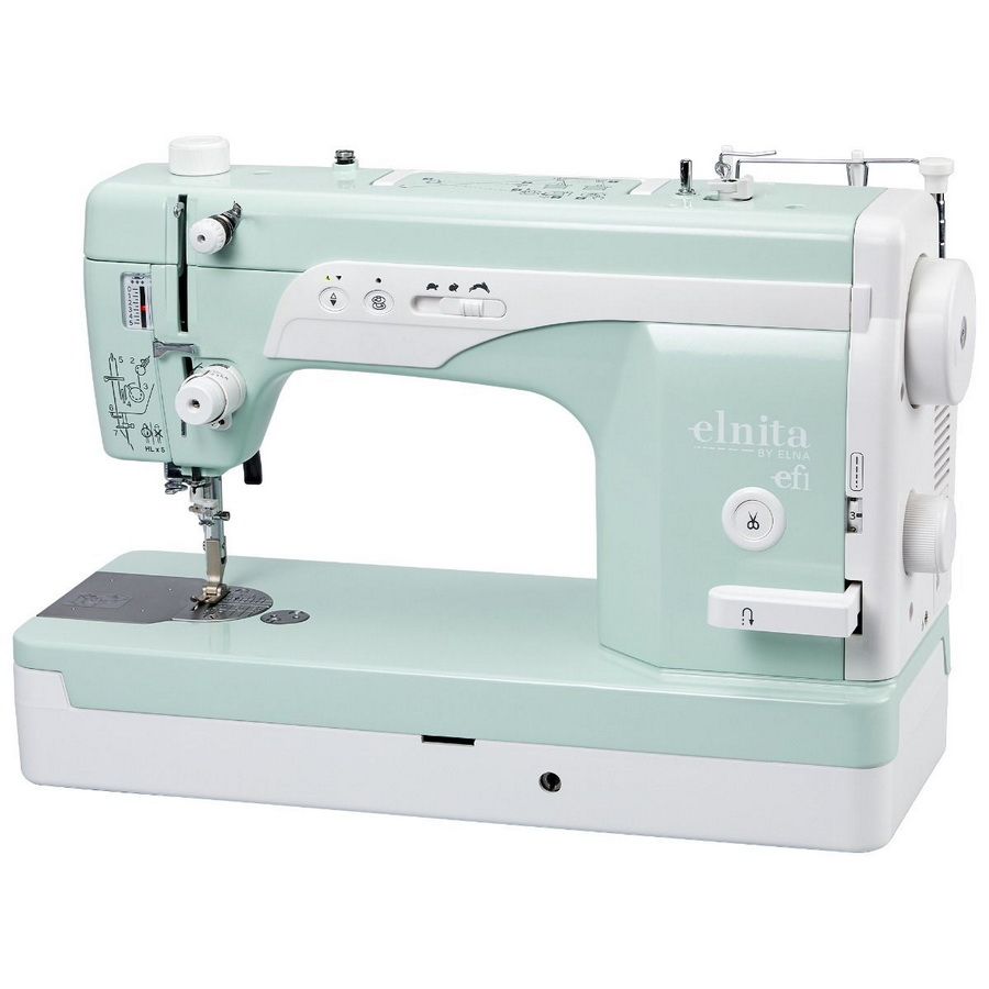 Elna Elnita EF1 High Speed Straight Stitch Sewing Machine