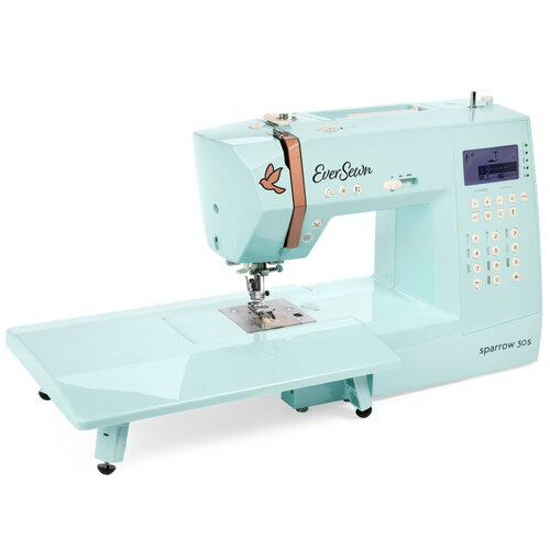 EverSewn Sparrow 30S Sewing Machine and Included Extension Table