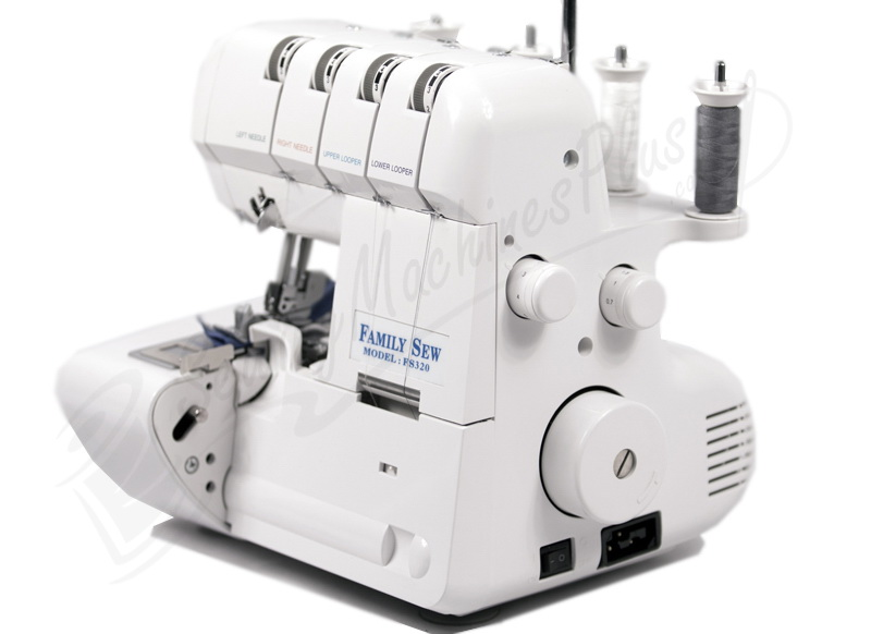 Family Sew Yamata - FS320 - 2/3/4 Thread Overlock Serger