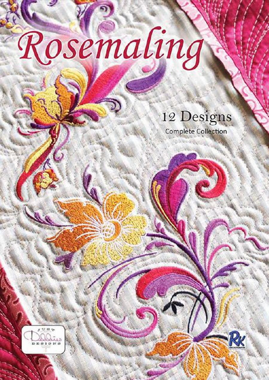 Rosemaling by Debbie Hofhines S-9159