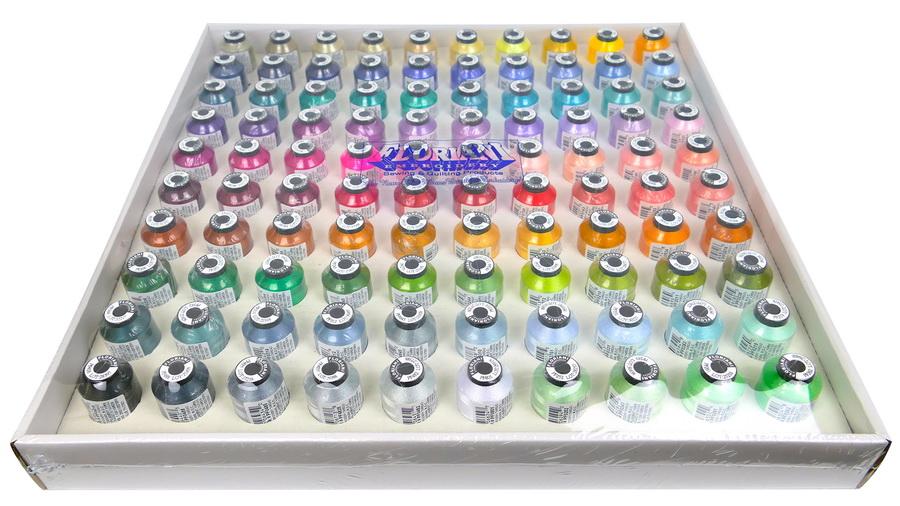 Floriani Top 100 Spool Thread Set 2 (F100TS2-360)