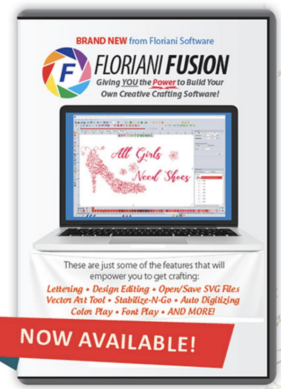 Floriani Fusion Embroidery Software
