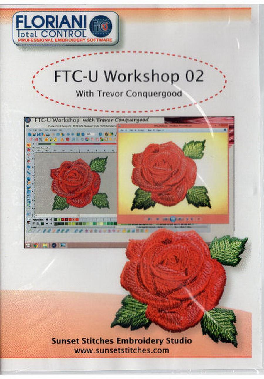 Floriani Total Control U Workshop DVD Volume 2 from Trevor Conquergood
