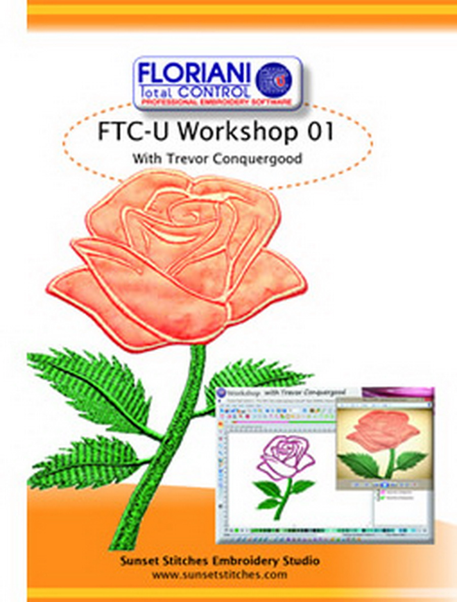 Floriani Total Control U Workshop DVD Volume 1 from Trevor Conquergood