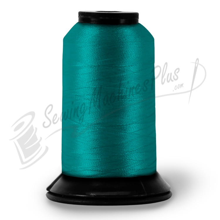 PFK37 - Floriani Embroidery Thread, Aqua, 1,100yd spool