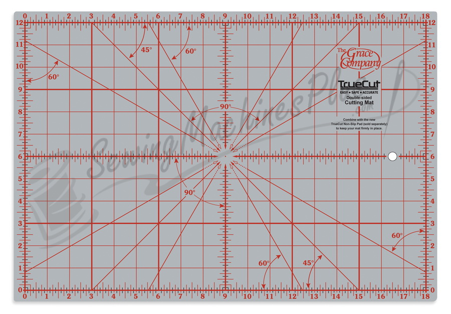 "Grace TrueCut Cutting Mat 12"" x 18"""