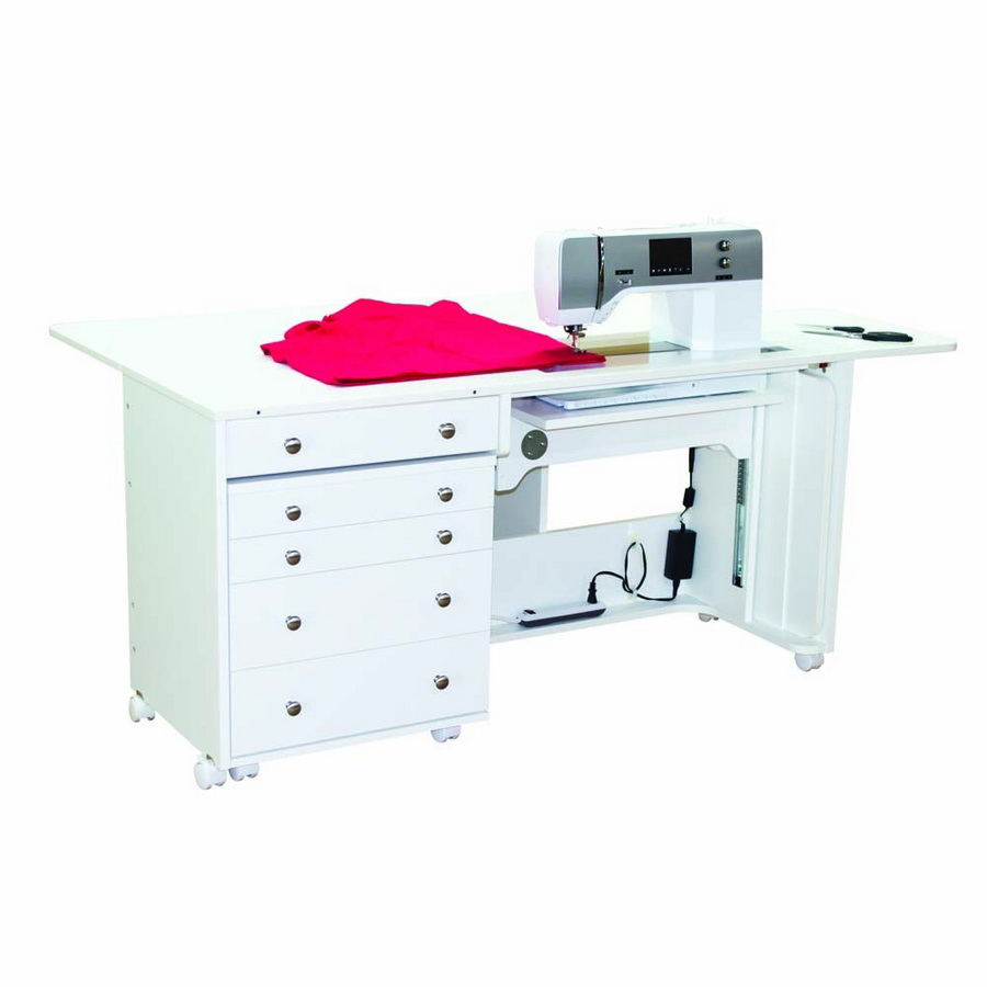 Horn of America Model 5280 Super Quilters Dream Elite Sewing Cabinet - With Electric Lift