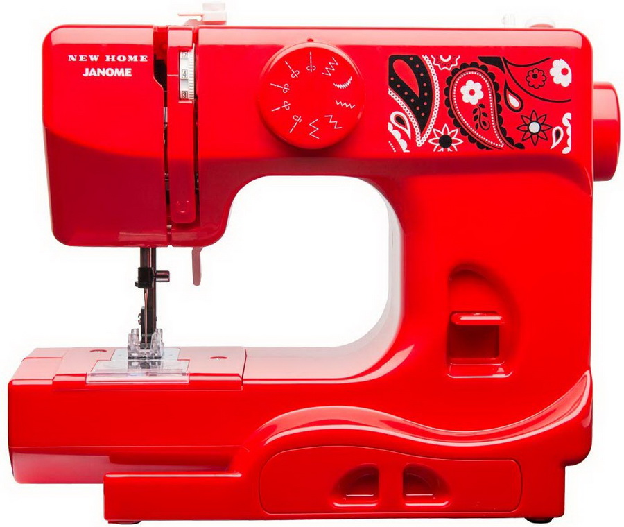 Janome Derby Line Portable Sewing Machine (Blush Color)