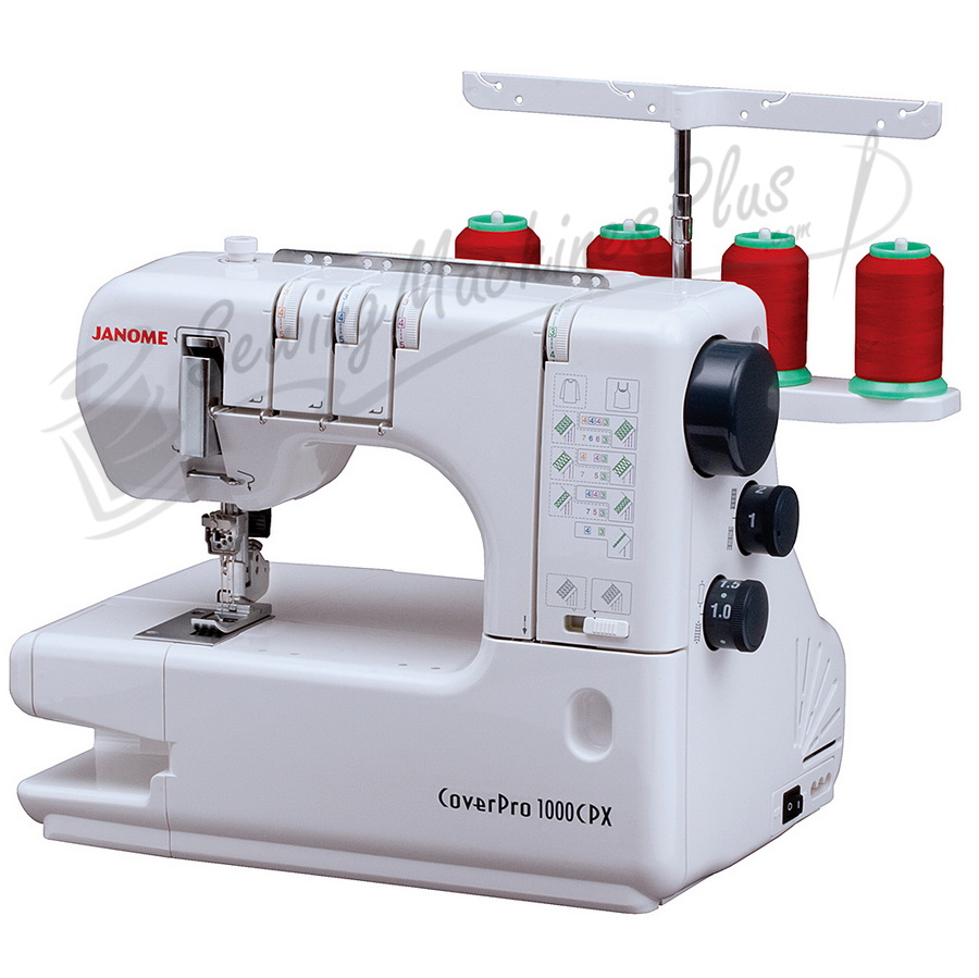 Refurbished Janome 1000CPX Cover Pro