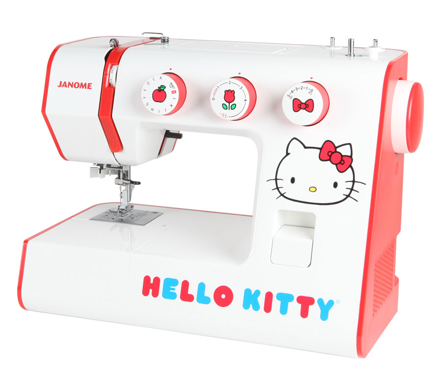 Janome Hello Kitty 40 Electronic Sewing Machine Fascinating Janome Sewing Machines Melbourne