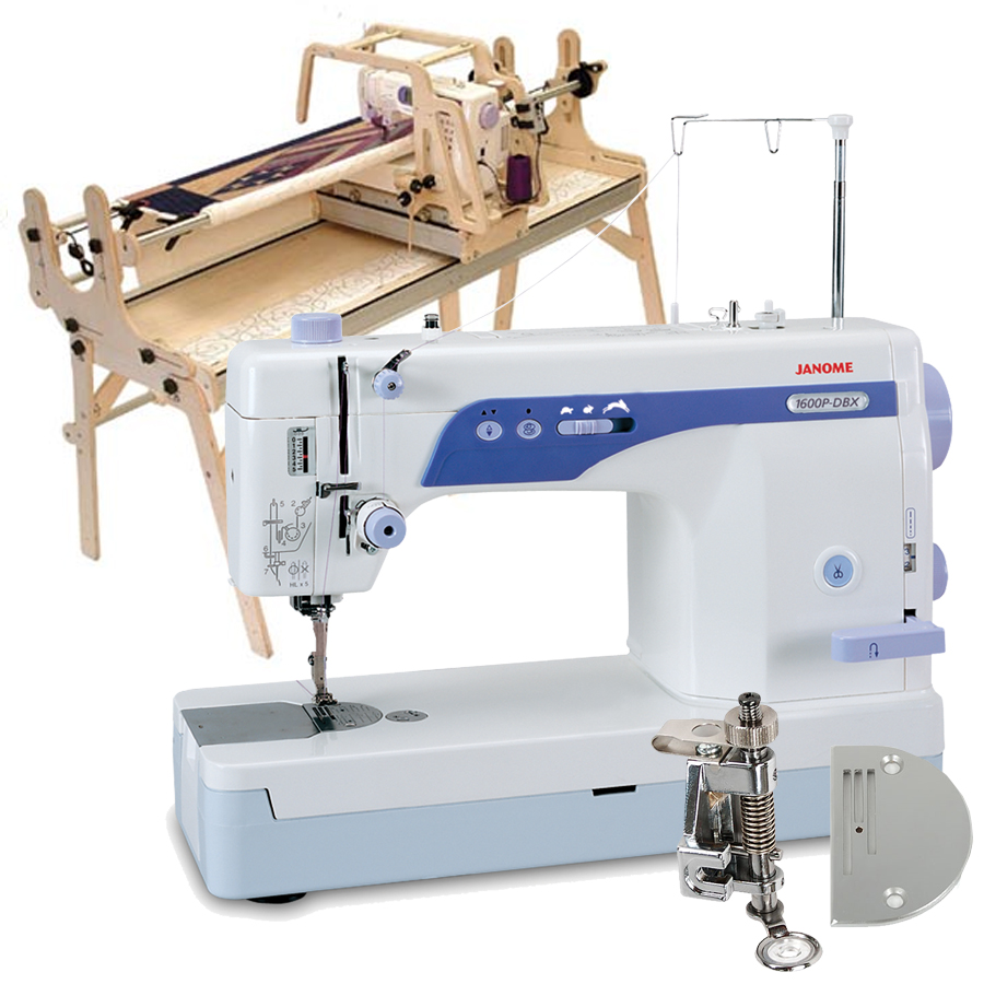Little Gracie II Quilting Frame, Janome 1600P-DBX High Speed Sewing ...