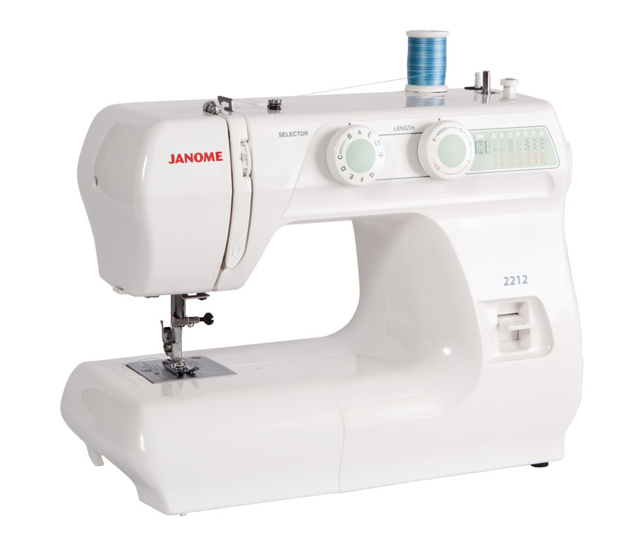 Refurbished Janome 2212 12 Stitch Full Size Freearm Sewing Machine
