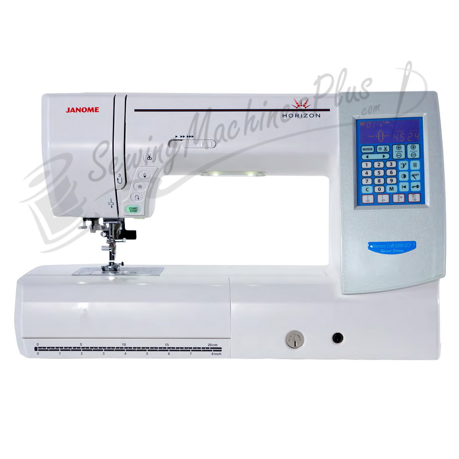 Refurbished Janome Horizon Memory Craft 8200 QCP Special Edition