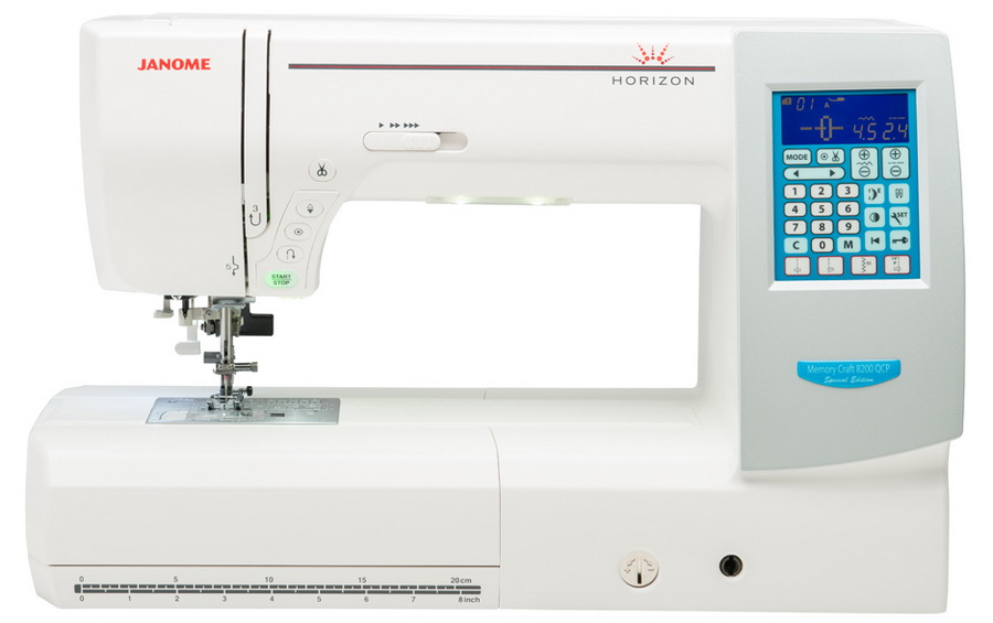 Janome Horizon Memory Craft 8200 QCP Special Edition