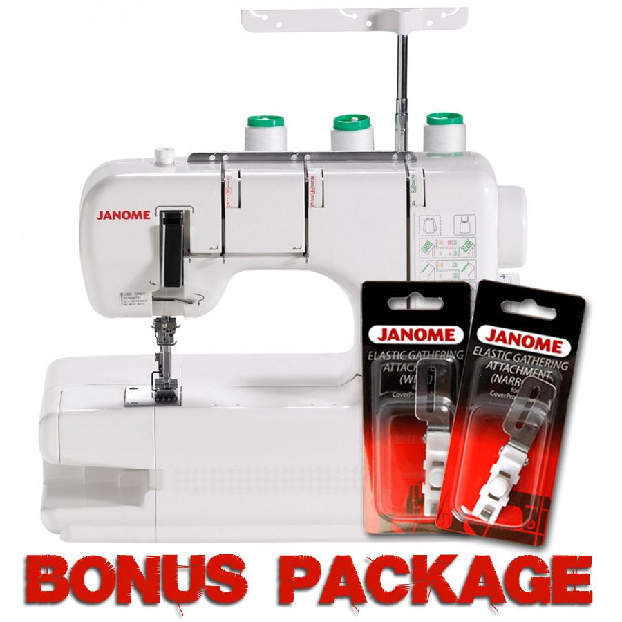 Janome CoverPro 900CPX Cover Hem Machine & FREE BONUS